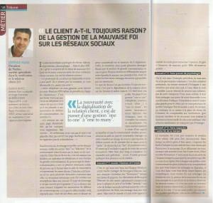 """Tribune de Jérémie Mani dans Relation Client Magazine : """"Le client a-t-il toujours raison ? De la mauvaise foi sur les réseaux sociaux"""""""
