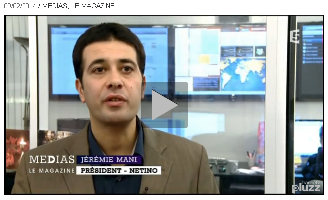 Jeremie Mani dans Medias le magazine, sur France5