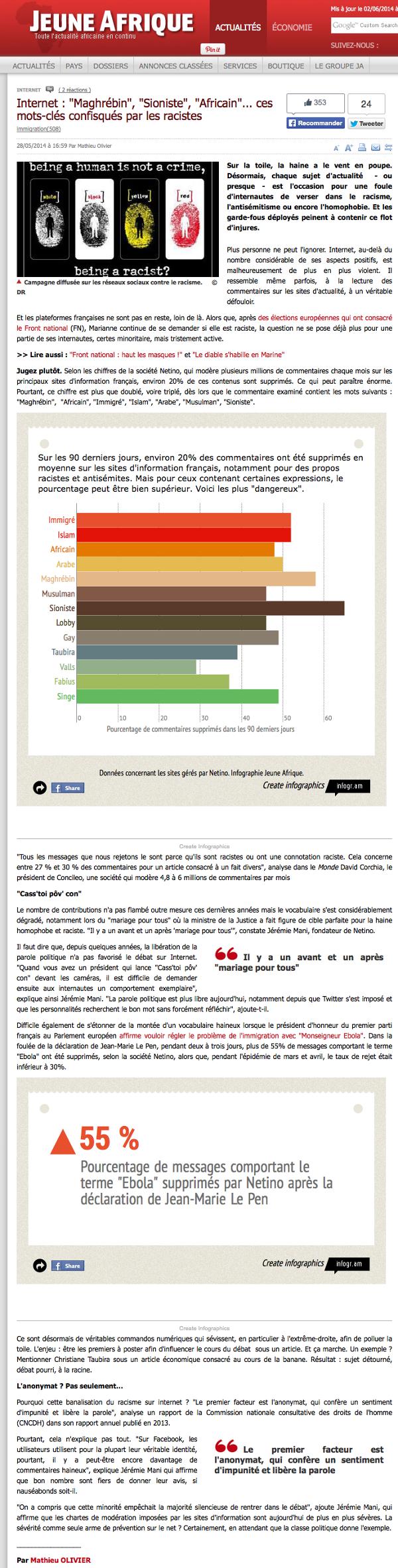 jeune-afrique-internet-maghrebin-sioniste-africain-racistes