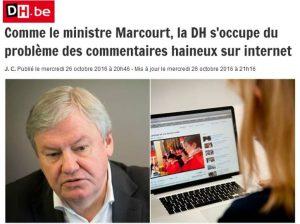 Conférence de Presse avec le ministre Belge du numérique