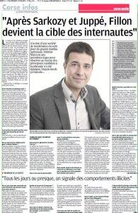 Corse Matin interroge Netino sur les primaires de la droite