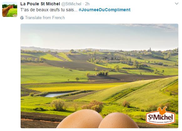 Tweet St Michel JDC