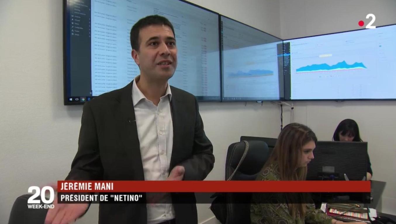 Netino by Webhelp au JT de 20h sur France 2