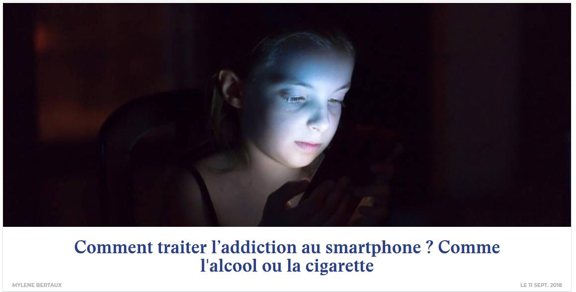 Comment traiter l'addiction au smartphone ? L'avis de Jérémie Mani dans l'ADN