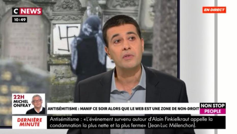 Jérémie Mani était l'invité du Morandini Live de CNEWS pour décrypter la hausse de la haine en ligne