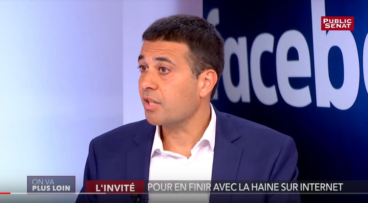 Jérémie Mani interviewé par Public Sénat sur le thème : «En finir avec la haine sur les réseaux sociaux»