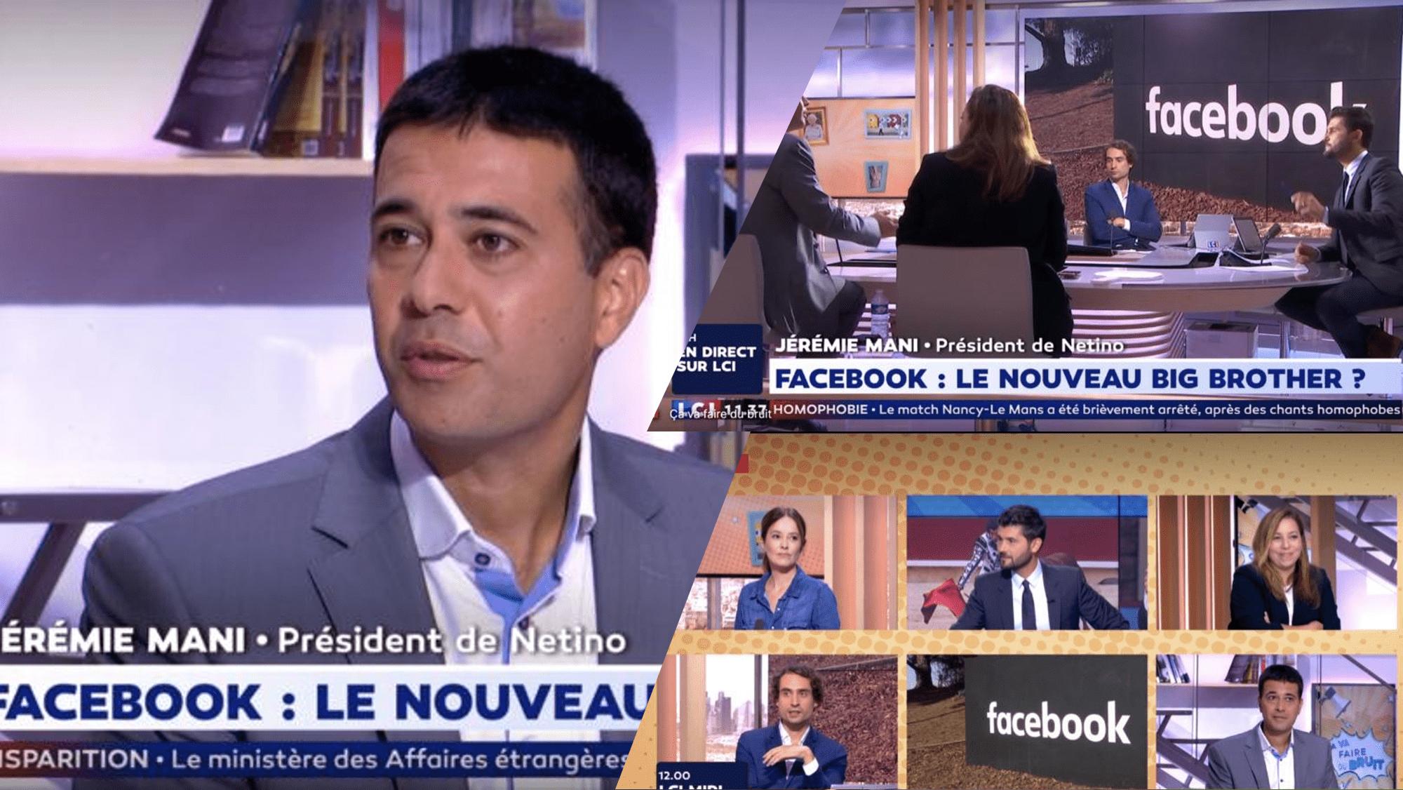 Jérémie Mani à participé à l'émission «Ça va faire du bruit !» sur LCI.