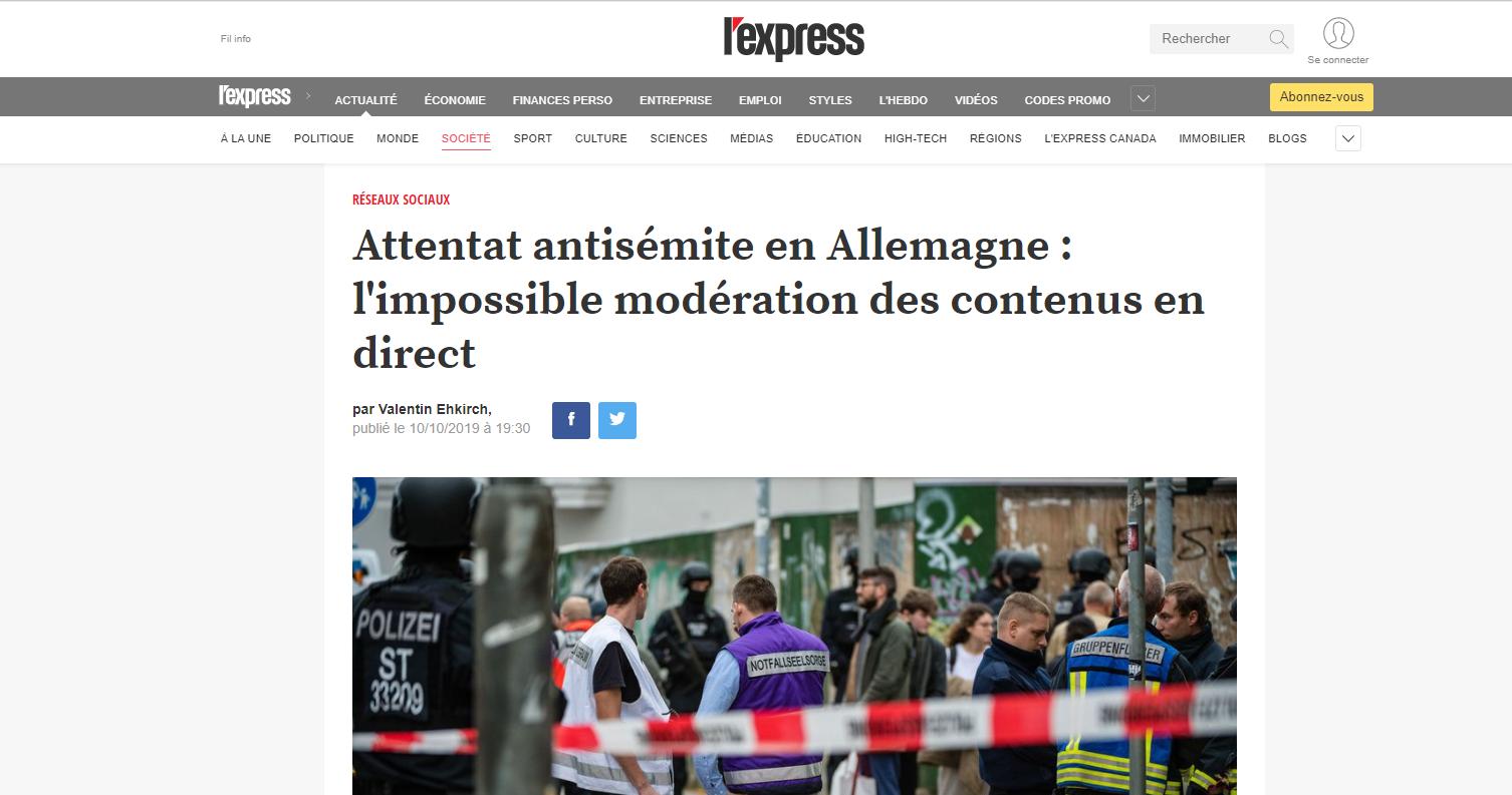 L'expertise de Netino by Webhelp entendue dans une tribune de l'Express