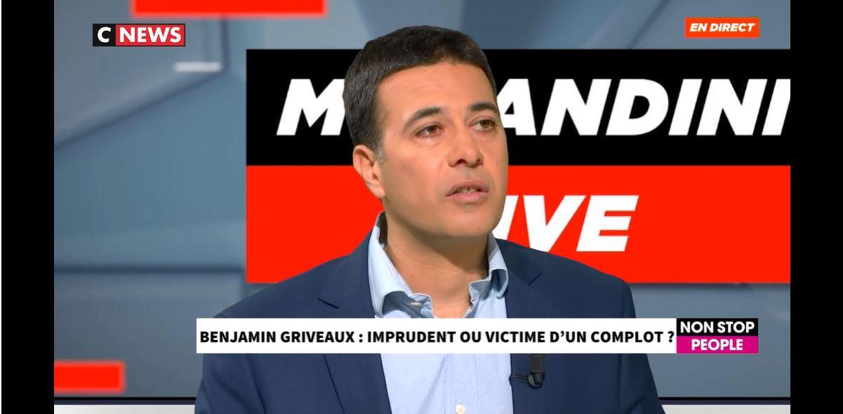 CNEWS – Intervention sur l'affaire Griveaux